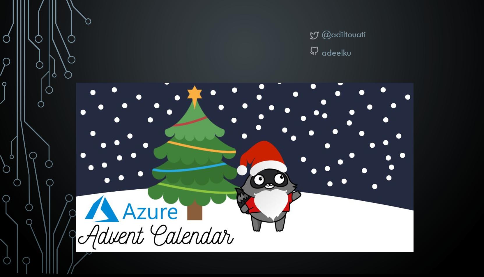 Azure Advent Calendar